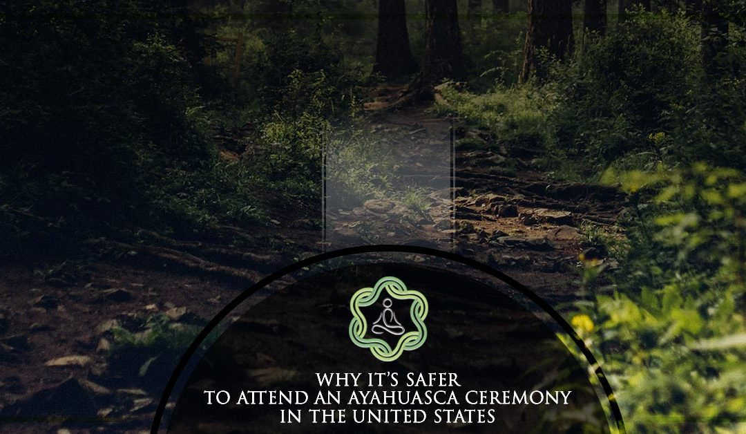 Why it's safer to attend an Ayahyasca Ceremony in the United States